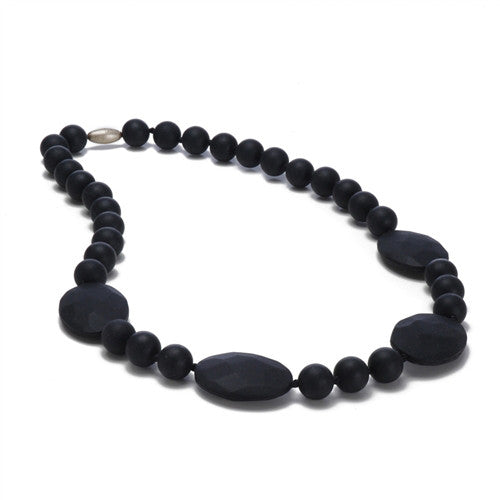 Chewbeads Necklace Teether Necklace| Black