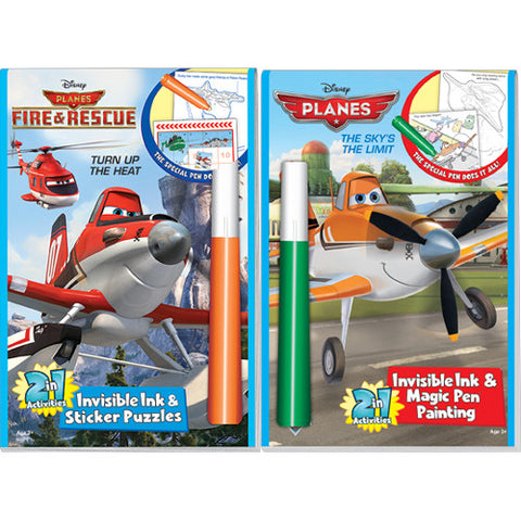 Lee Disney Planes Invisible Ink Book