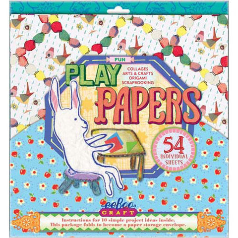 Eeboo Play Papers Fun 54 sheets