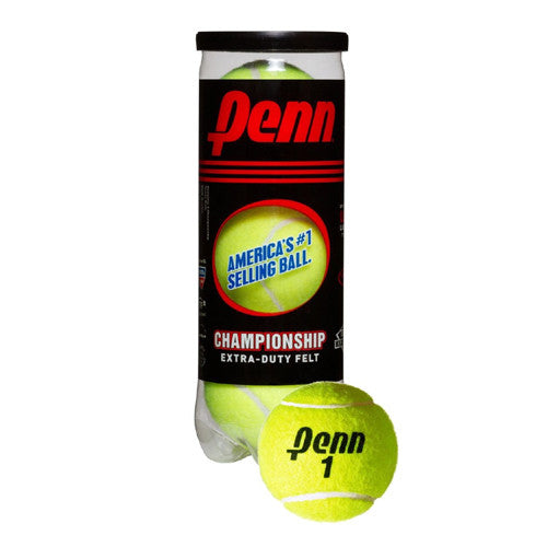 Penn Championship Tennis Ball 3 Ball Can