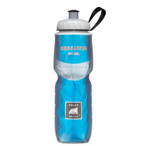 Polar 24oz Insulated Water Bottle Blue