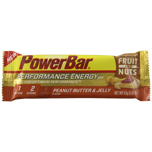 Powerbar Performance Energy Bar Flavor| Peanut Butter and Jelly