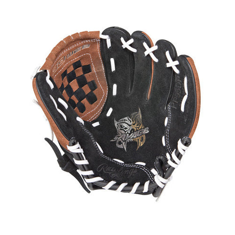 "Rawlings 9.5"" Pp95Dp Black Brown White"