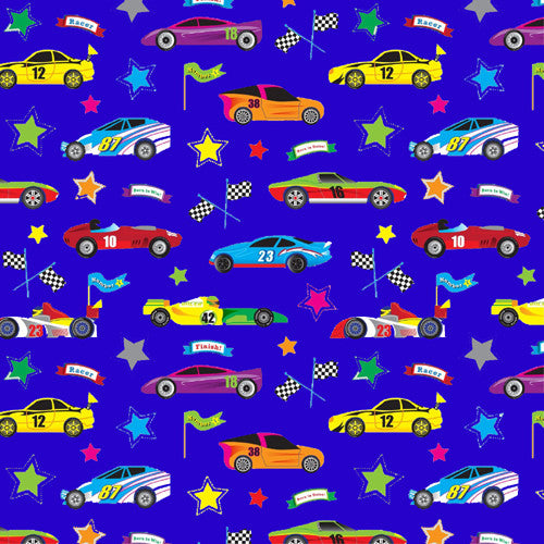 Jillson Racer Wrapping Paper - Roll