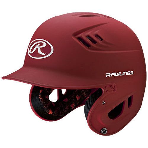 Rawlings Batting Helmet Jr R16Mj Mat Sca