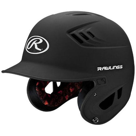 Rawlings Batting Helmet Sr R16Ms Mat Blk