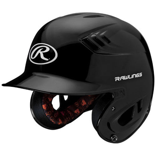 Rawlings Batting Helmet Nocsae Met. Blk