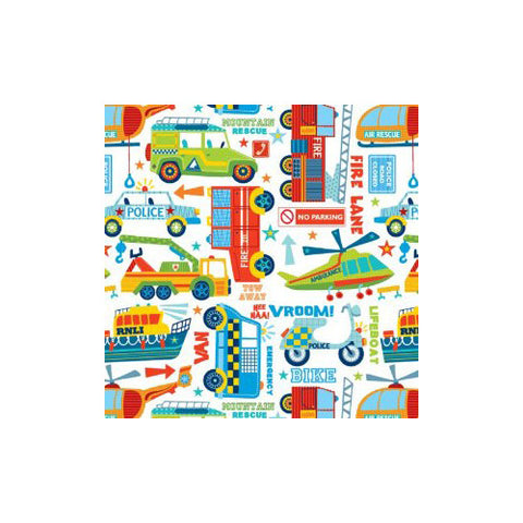 Jillson Boys Toys Wrapping Paper - Roll