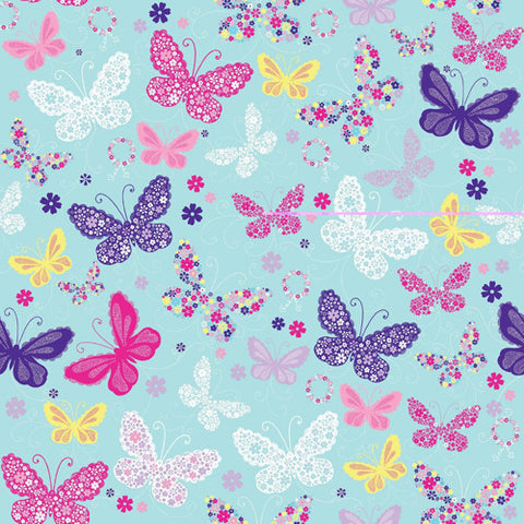Jillson Butterfly Wrapping Paper - Roll