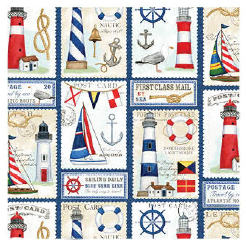 Jillson Nautical Wrapping Paper - Roll