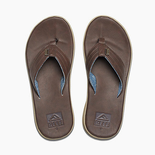 Reef Mens Rover SL Dark Brown Bronze 8.0