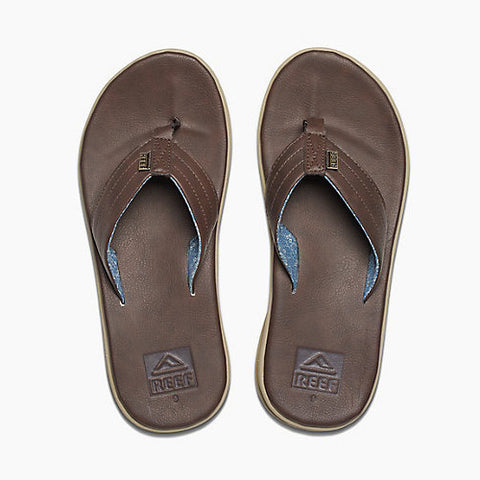 Reef Mens Rover SL Dark Brown Bronze 9.0