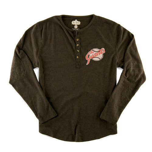 Red Jacket Henley L/S Primo San Francisco Giants Medium
