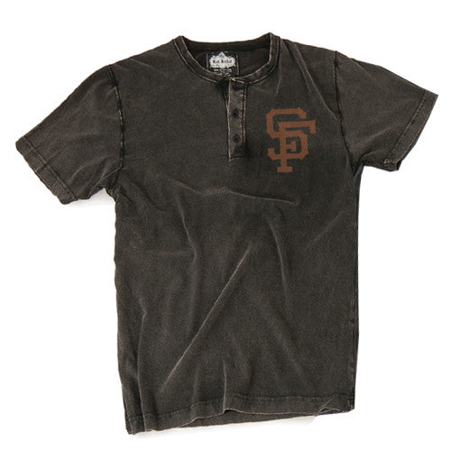Red Jacket Henley S/S Luther San Francisco Giants X Large