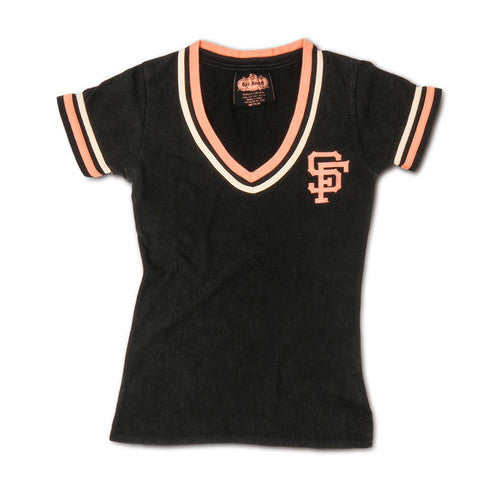 Red Jacket Wos Vee S/S Votary San Francisco Giants Large