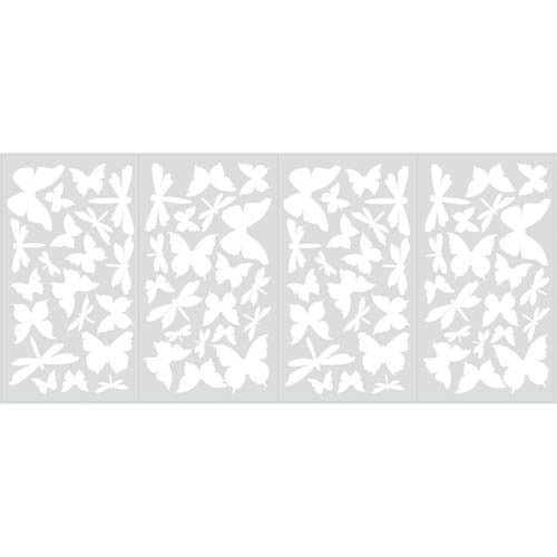 RoomMates Butterfly & Dragonfly Decal