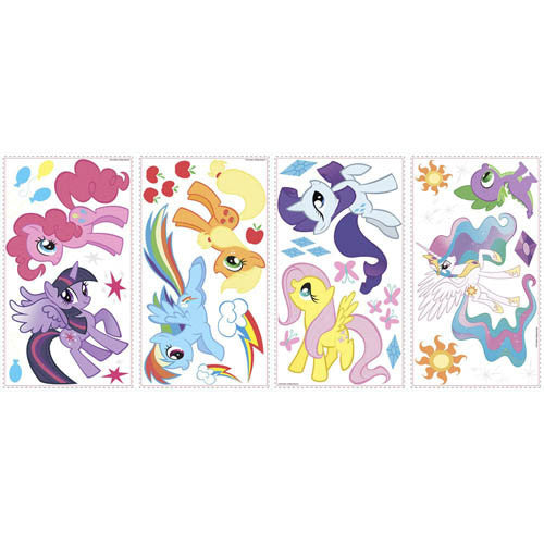 RoomMates My Little Pony Decal