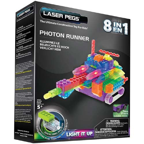 Laser Pegs Photon Runner 8 in 1