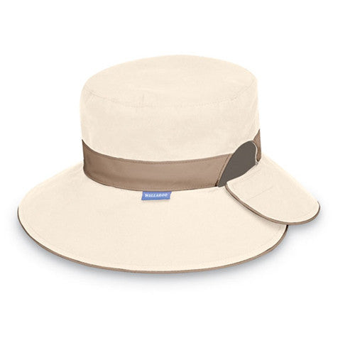 Wallaroo Reversible Resort UV Sun Hat Natural/Camel