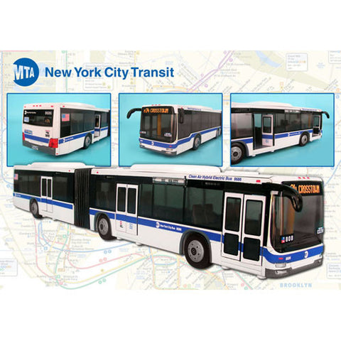 Daron MTA Articulated Bus Large