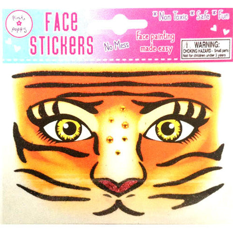 Face Stickers - Lioness