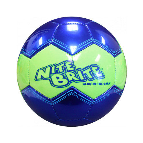 Baden #4 S140G-105 Soccerball Glow Blue