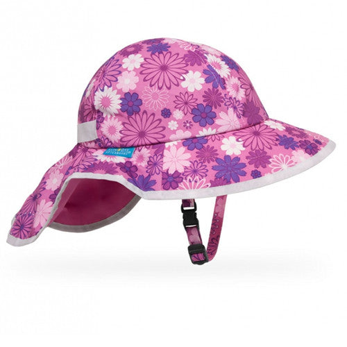 Sunday Afternoons Play Hat Small Baby 6-24 Months Daisy Pink