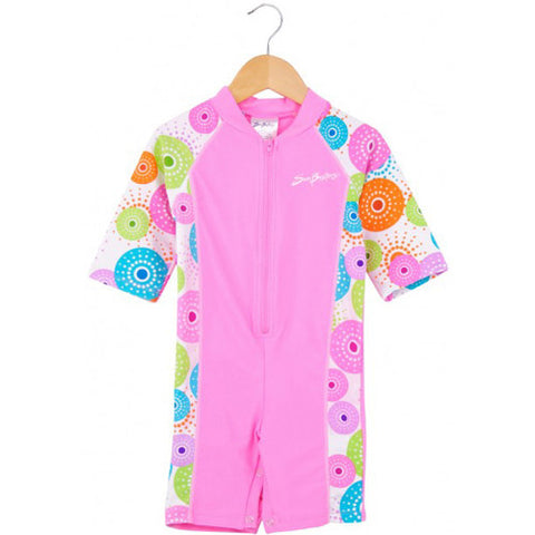 SunBusters SS Onesie Pink Size 6