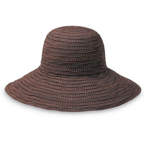 Wallaroo Scrunchie Sun Hat Brown