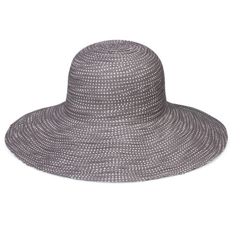 Wallaroo Scrunchie Sun Hat Grey