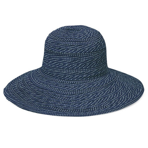 Wallaroo Scrunchie Sun Hat Navy