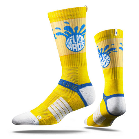 Strideline Socks SFO Blue Yellow One Size