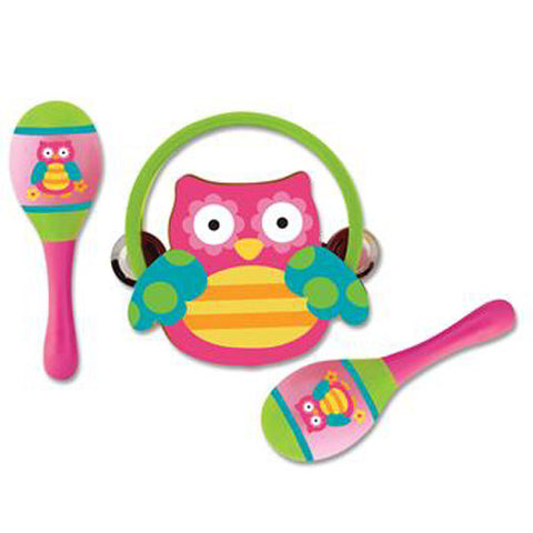 Percussion Set Owl