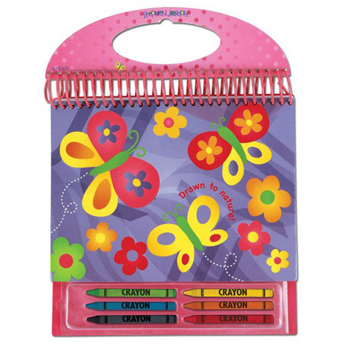Stephen Joseph Sketch Pads School Accessories| Butterfly