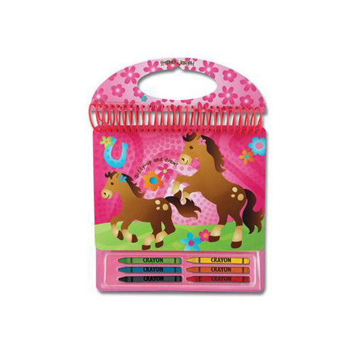 Stephen Joseph Sketch Pads School Accessories| Horse