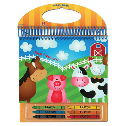 Stephen Joseph Sketch Pads School Accessories| Farm