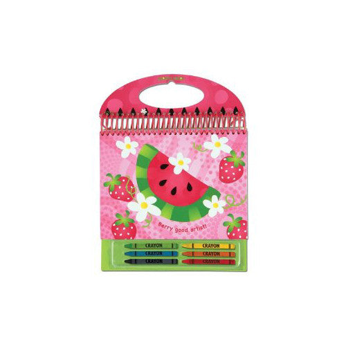 Stephen Joseph Sketch Pads School Accessories| Watermelon