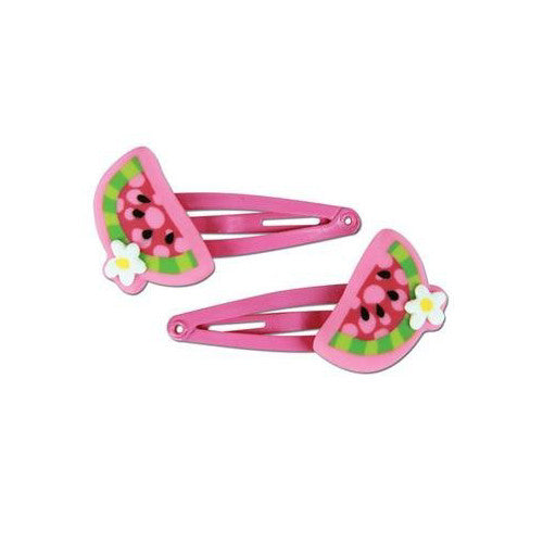 Stephen Joseph Watermelon Hair Clips