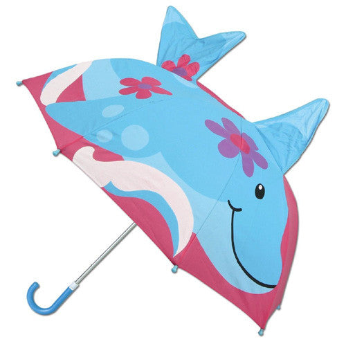 Stephen Joseph 3-D Umbrella Dolphin