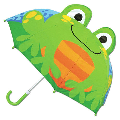Stephen Joseph 3-D Umbrella Frog