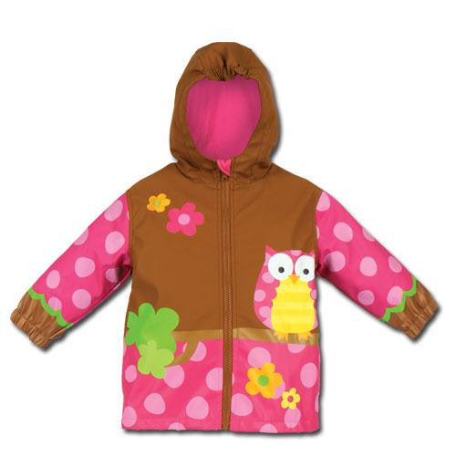 Stephen Joseph Owl Raincoat 4T