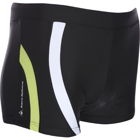 AquaSphere Men's Rusty Sq Leg Black/Lt Green 30