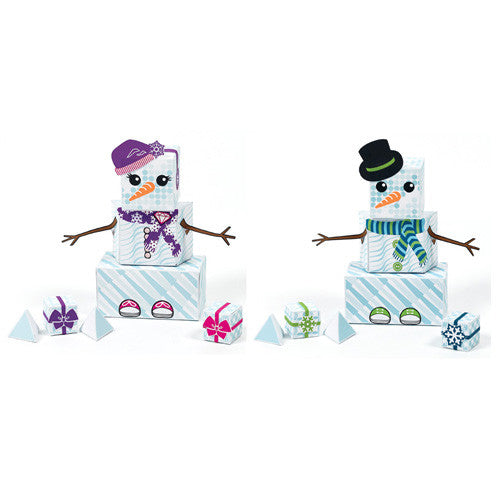 Paper Punk BYO SnowGuy/SnowGirl