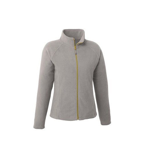 Landway Sonoma SP Full Zip Fleece Light Grey Yellow Medium