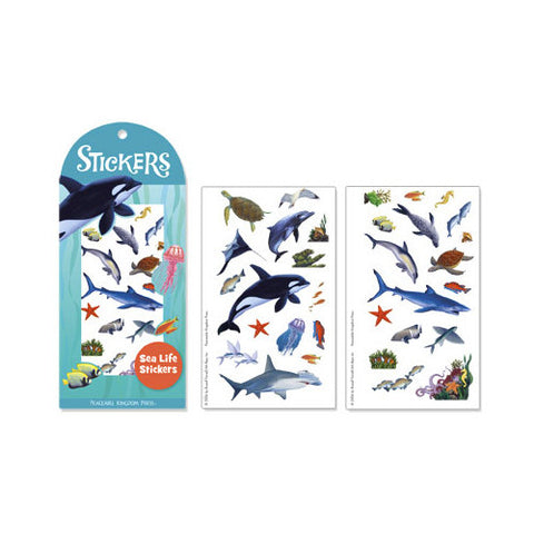 Peaceable Sea Life Stickers