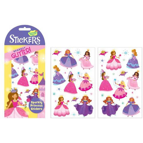 Peaceable Stickers Glitter Princess