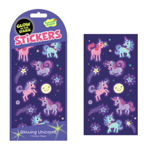 Peaceable Stickers Glow Unicorn