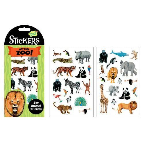 Peaceable Stickers Zoo Animal