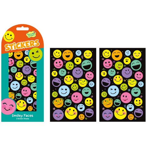 Peaceable Smiley Face Stickers