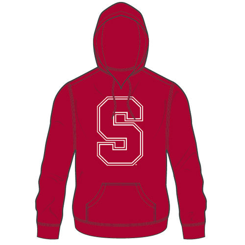 Stanford Hoodie Icon Popover Cardinal Small